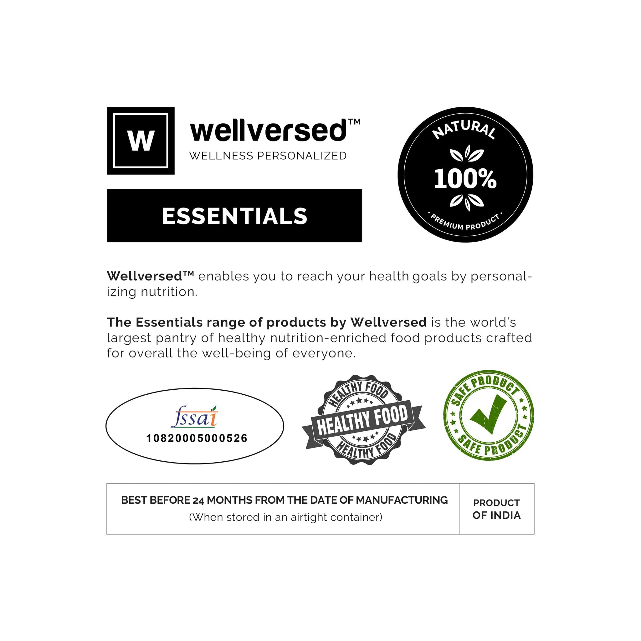 Wellversed - Apple Cider Vinegar | Raw, Unfiltered, Undiluted | Keto Compliant For Weight Management