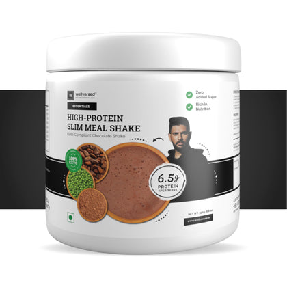 High Protein Slim Meal Replacement Shake | Keto Compliant, Low GI, No Added Sugar