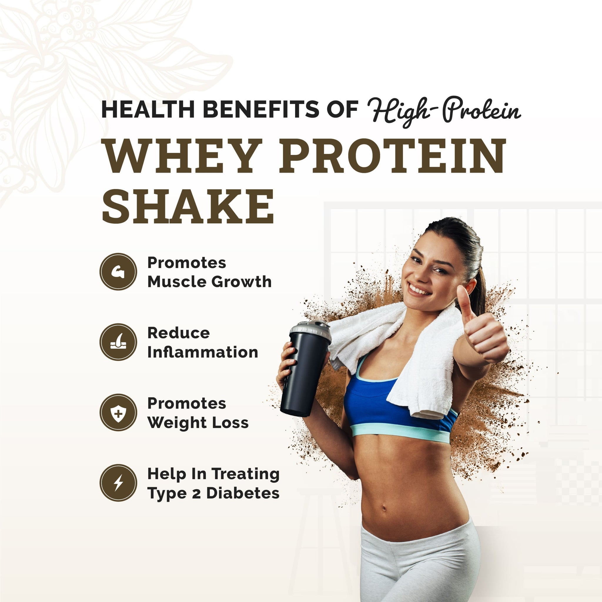 Whey Protein Powder | Sugar Free