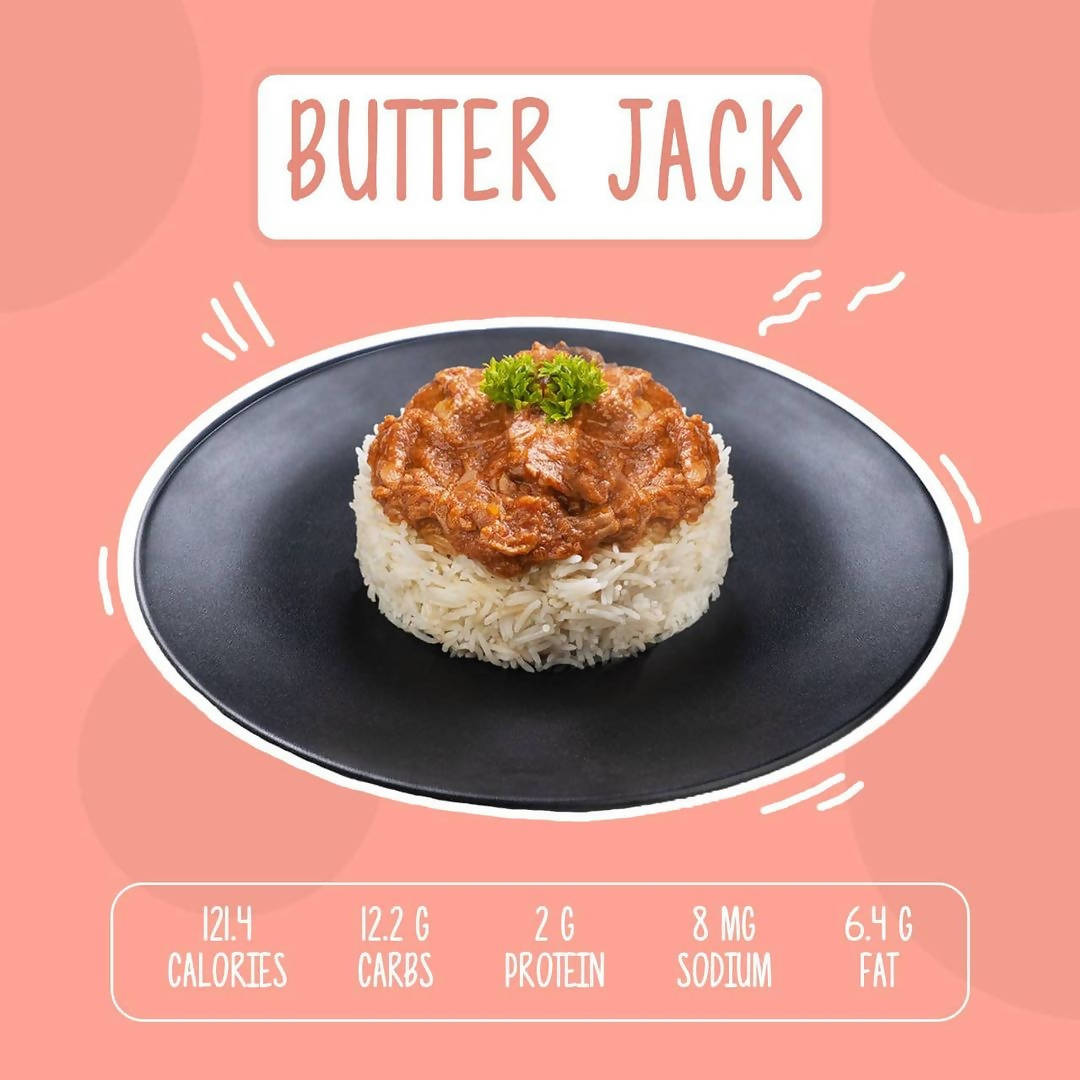 Butter Jack - 300g Vegan Meat - 100% Plant Based - No Dairy - Gluten Free - Rich In Fibre