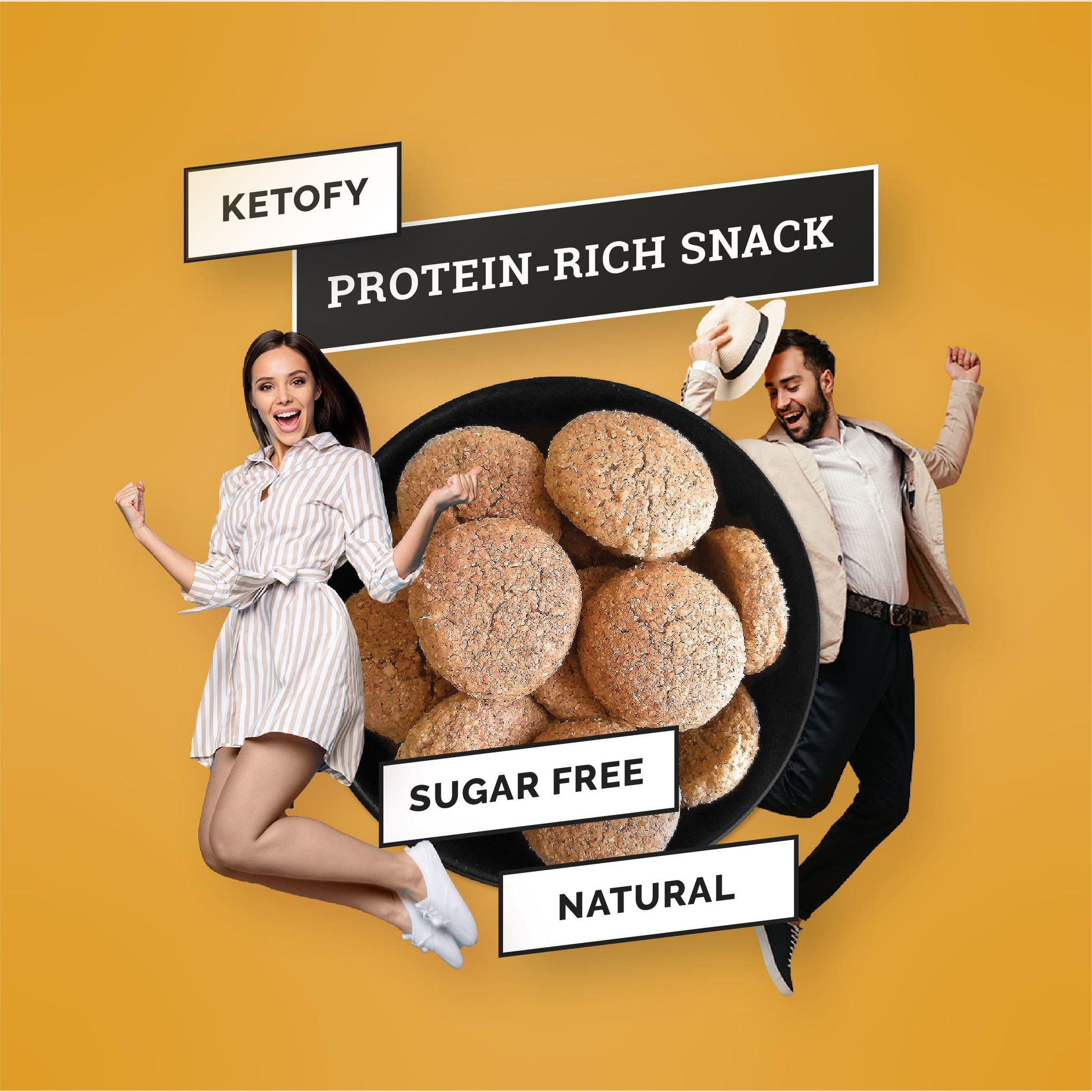 Ketofy - Coconut Keto Cookies | Ultra Low Carb