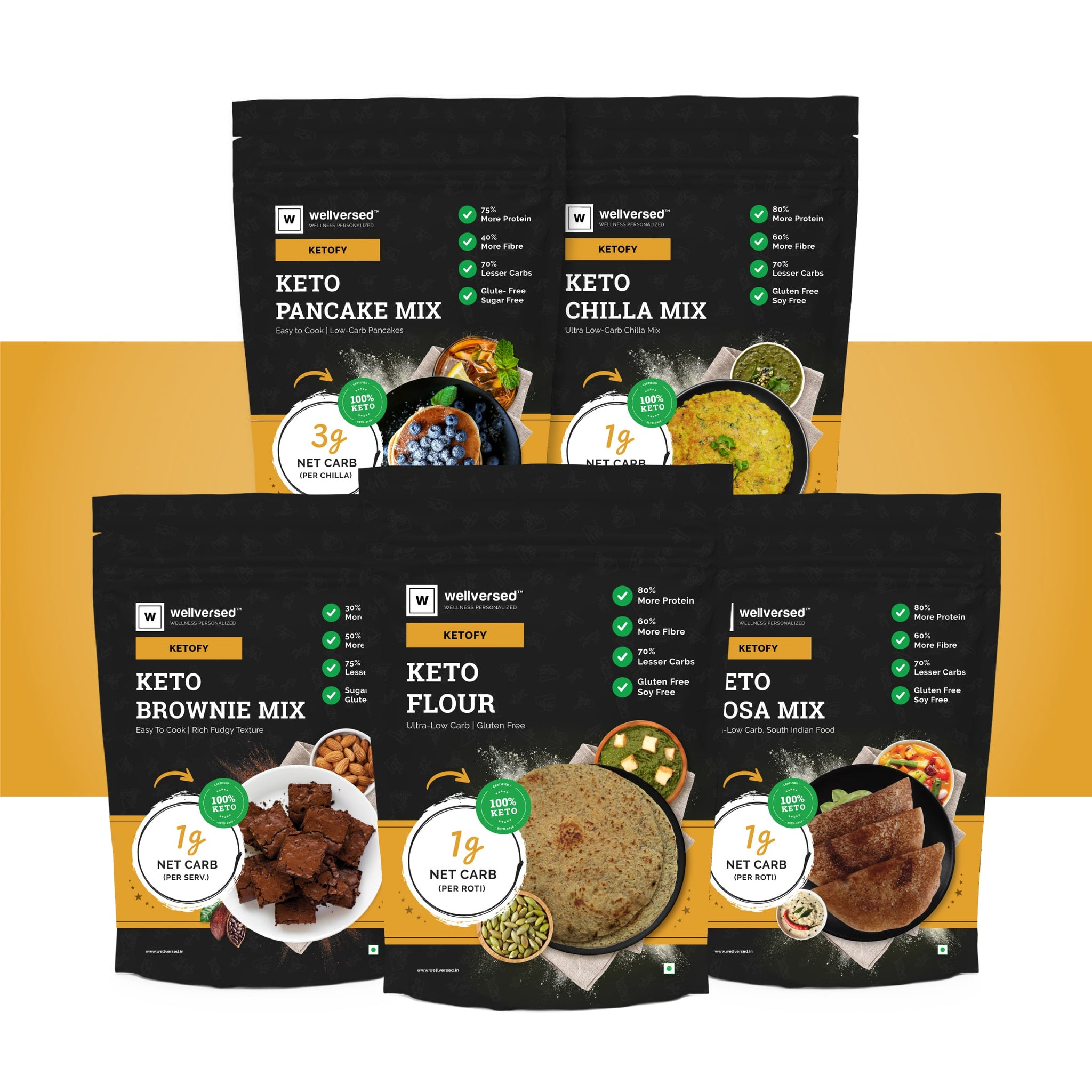 Ketofy Jumbo Cooking Supplies Pack | Ultra Low Carb