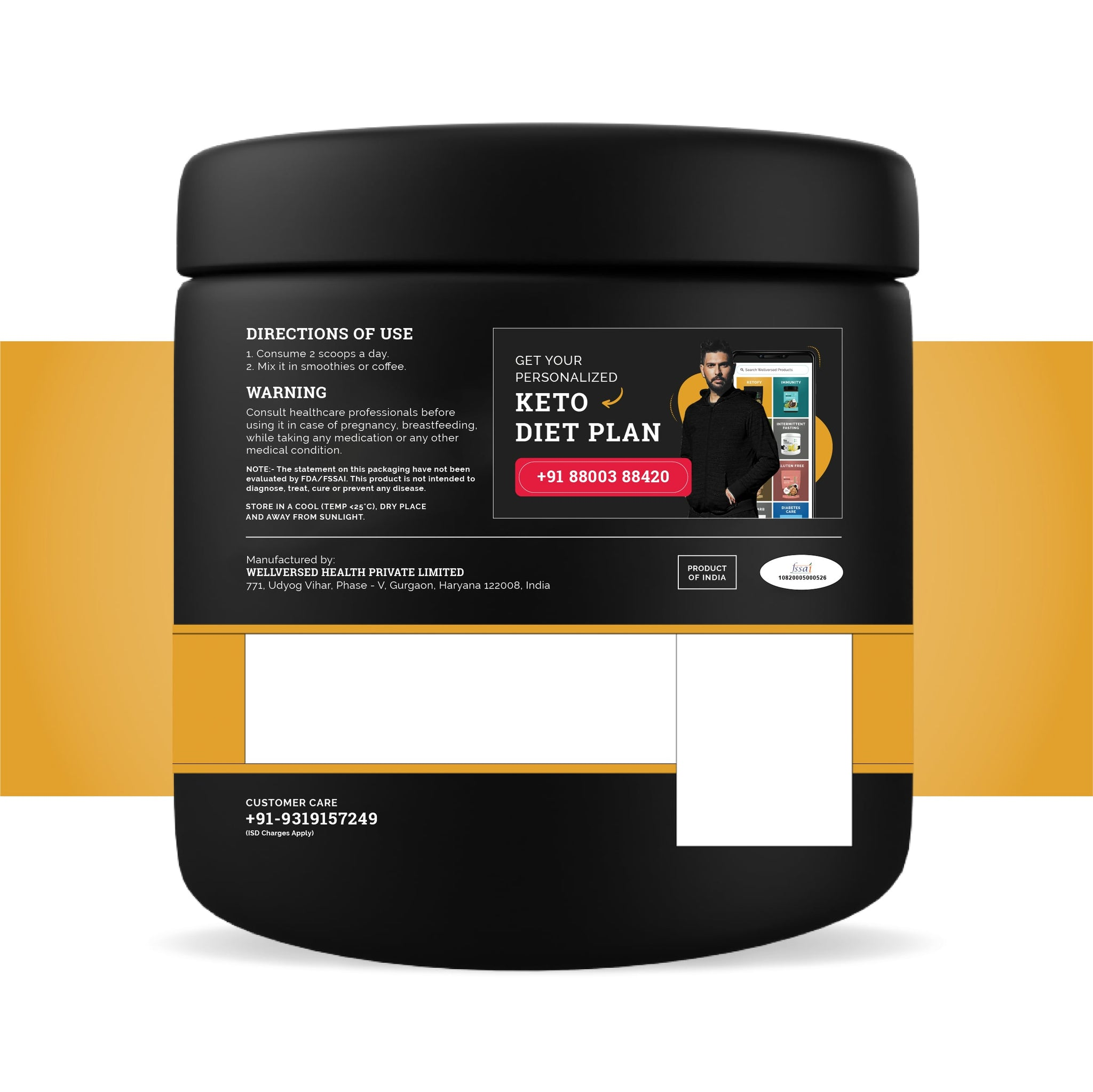 Ketofy Collagen | Intensive Skin & Hair Care