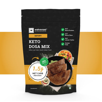 Ketofy Dosa Mix | Ultra Low Carb