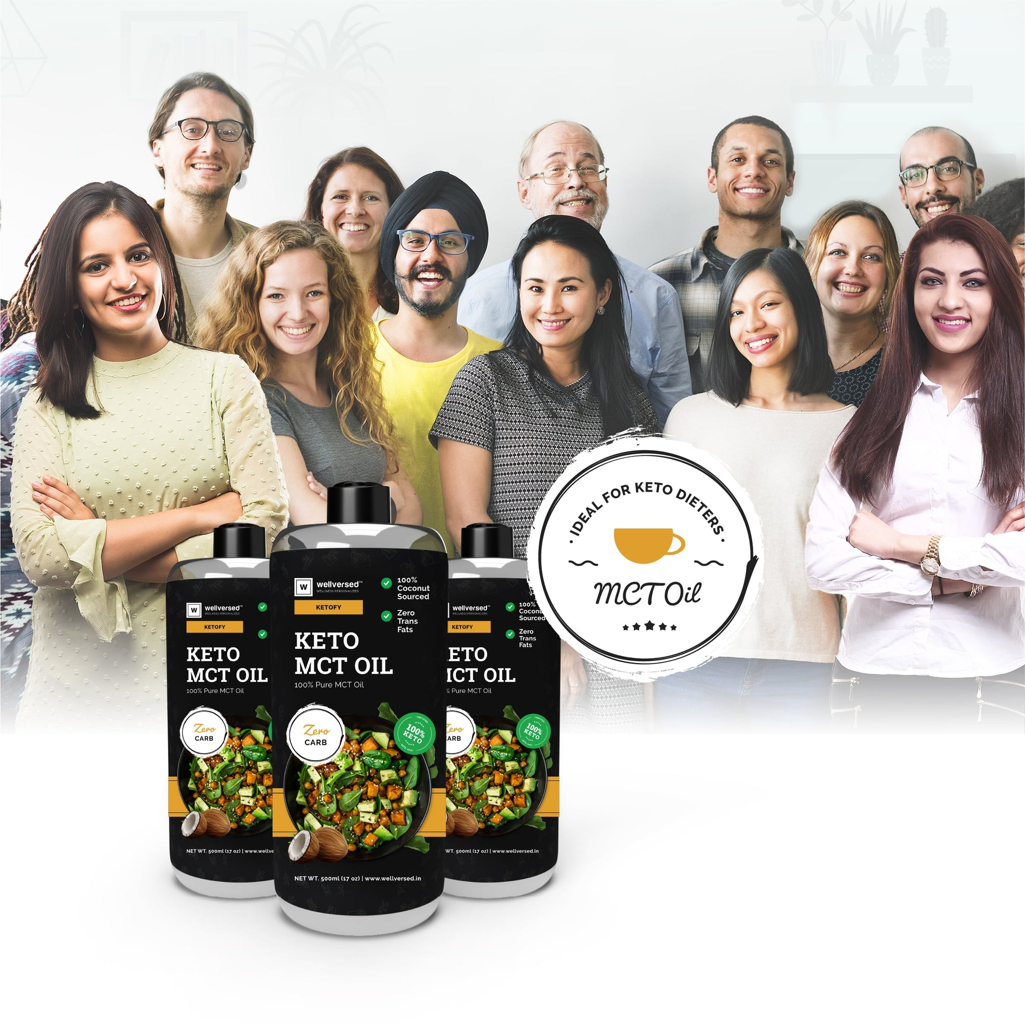 Ketofy MCT Oil | Energy Booster