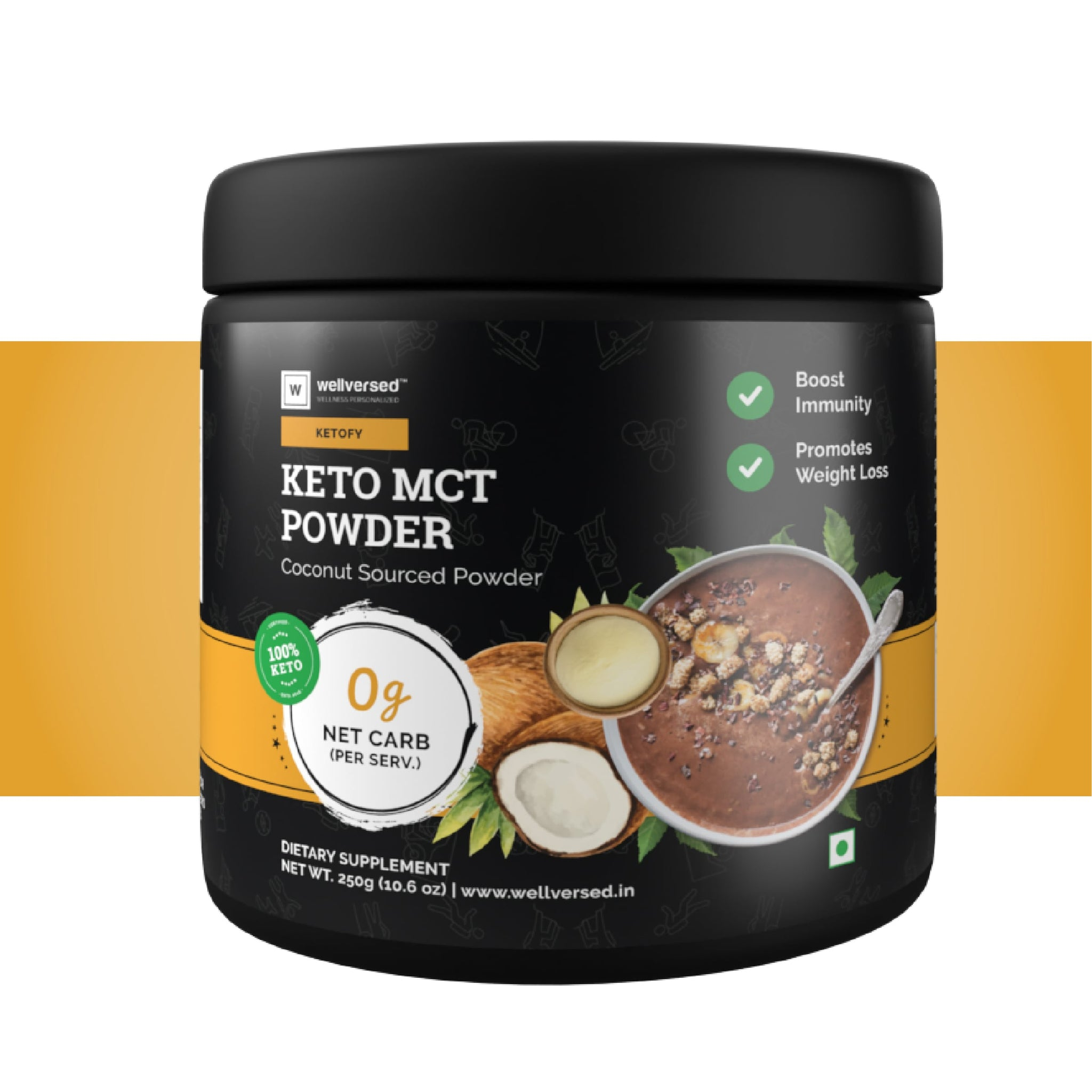 Ketofy MCT Powder | 100% Pure