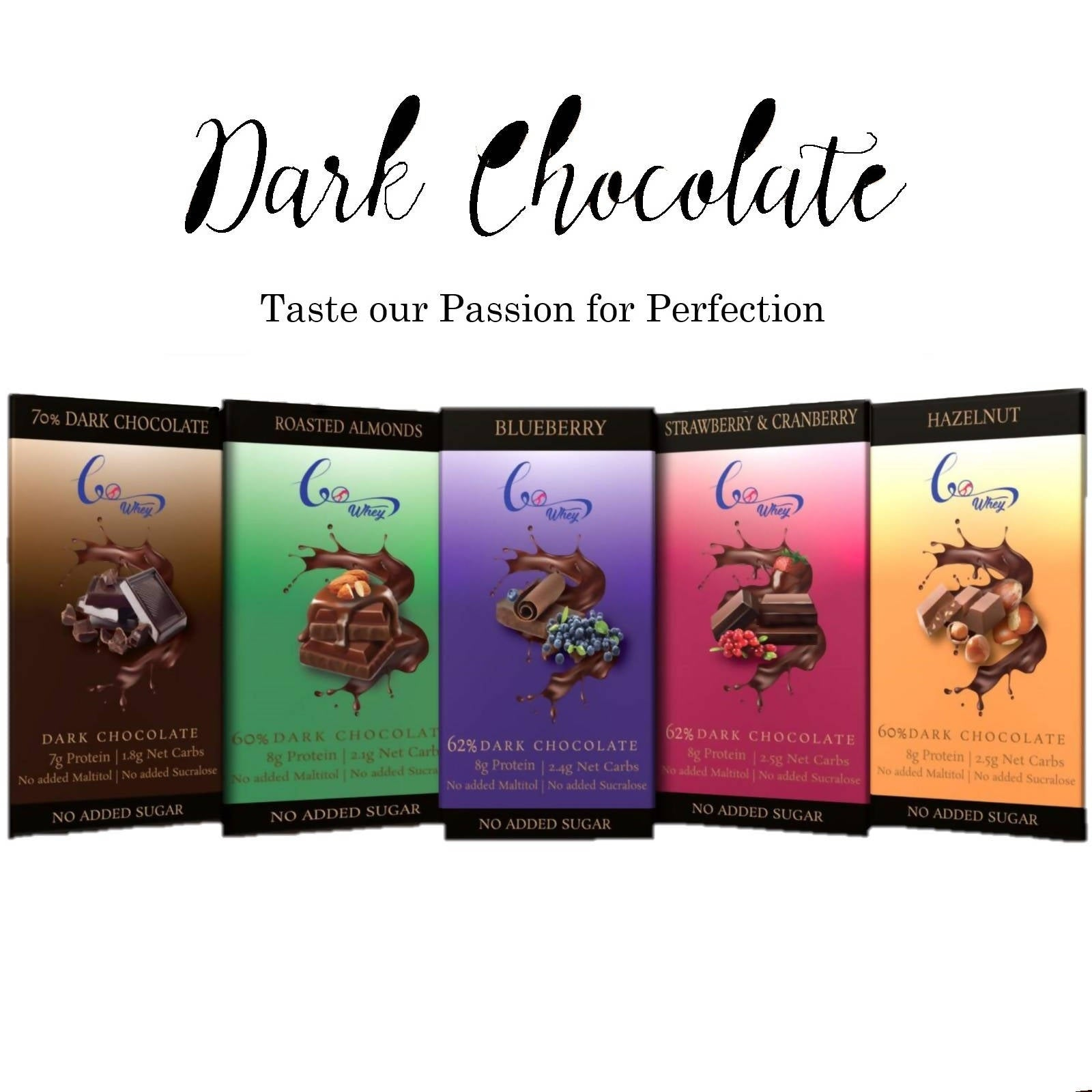 All in One- Keto Friendly Dark Chocolate(Pack of 5)