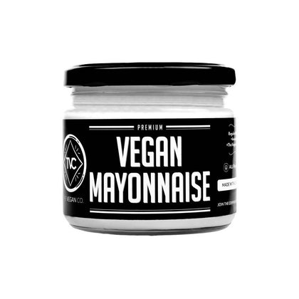 The Vegan Co.'s Vegan Mayonnaise (Gluten-Free, Zero Cholesterol, Lactose Free, Glass-Packaging) (300g)