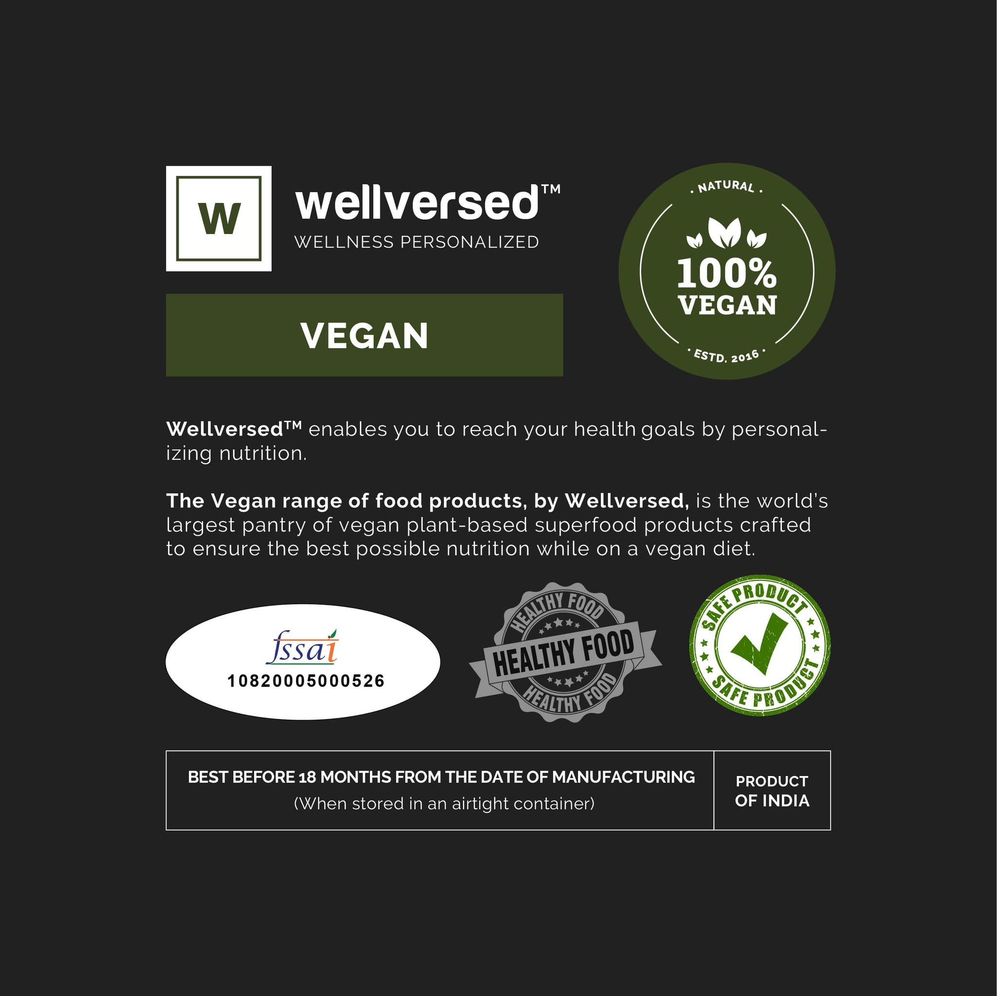 Wellversed - Vegan Collagen Builder | 100% Natural Plant Based | Advanced Skin Repair