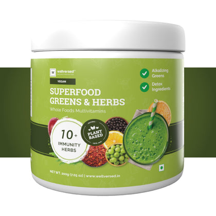 Superfood Greens & Herbs | Wholefood Multivitamins