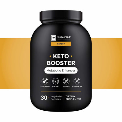 Keto Booster Front