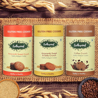 Earthspired Gluten Free cookies Combo pack of 3