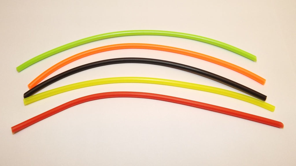 NEW COLOURED SILICONE EXTENSION TUBING FOR HOLDING HOOKS INTO TUBES SIZE 2.00mm