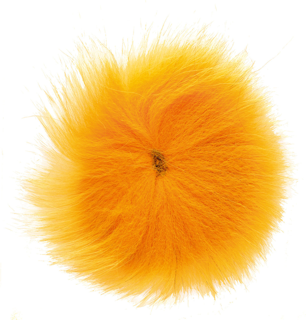 Arctic Fox Tail Hair Assorted Colours