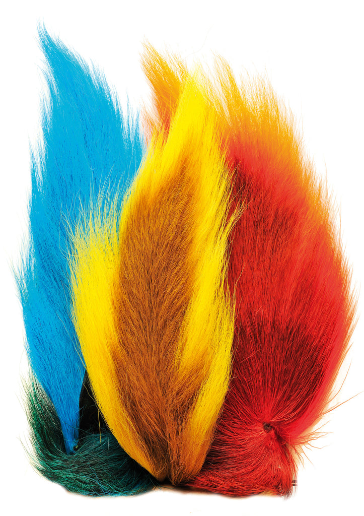 Bucktail Half Tails Assorted Colours also pkt Mixed Pieces