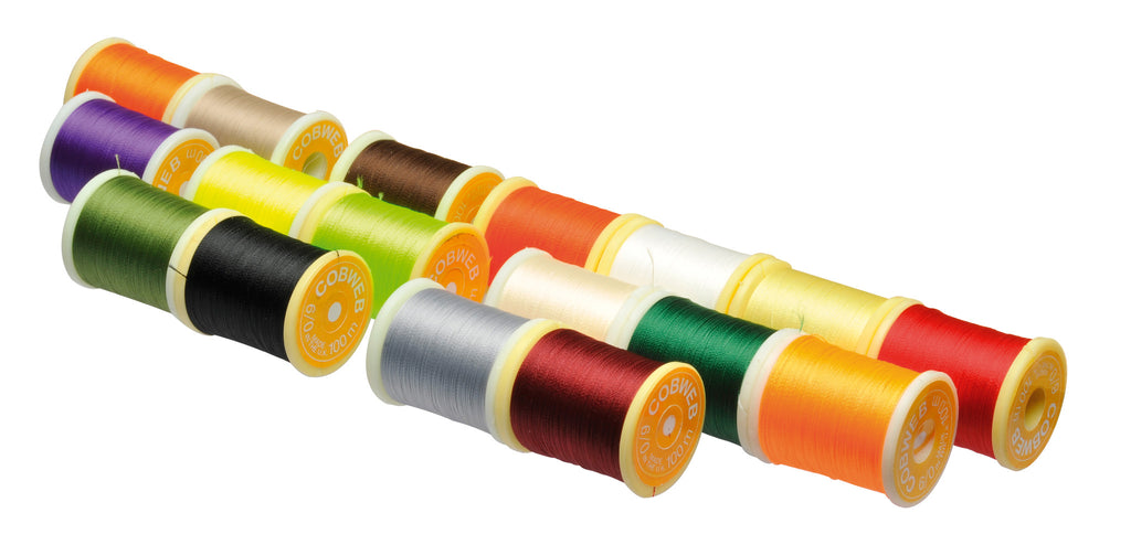 COBWEB SUPERGLO FLUORESCENT THREAD 6/0