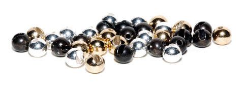 10 Veniards Heavy Tungsten Slotted Beads in Gold Assorted Sizes