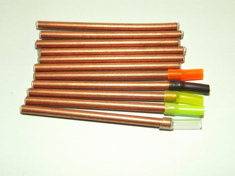 10 Plastic Lined COPPER TUBES with free silcone extension tubing from FLYMAKERS