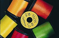 Uni Neon- Fluo Tying Threads Size 1/0 in Assorted Colours of 50 Yard Reels