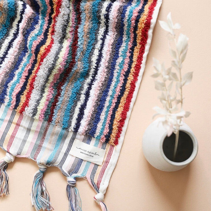 Striped Turkish towel spiced chai PREORDER
