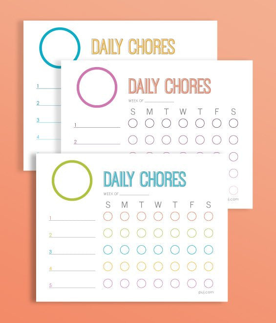 image about Printable Chore Pictures named printable chore chart! - Puj Simplifying Parenthood