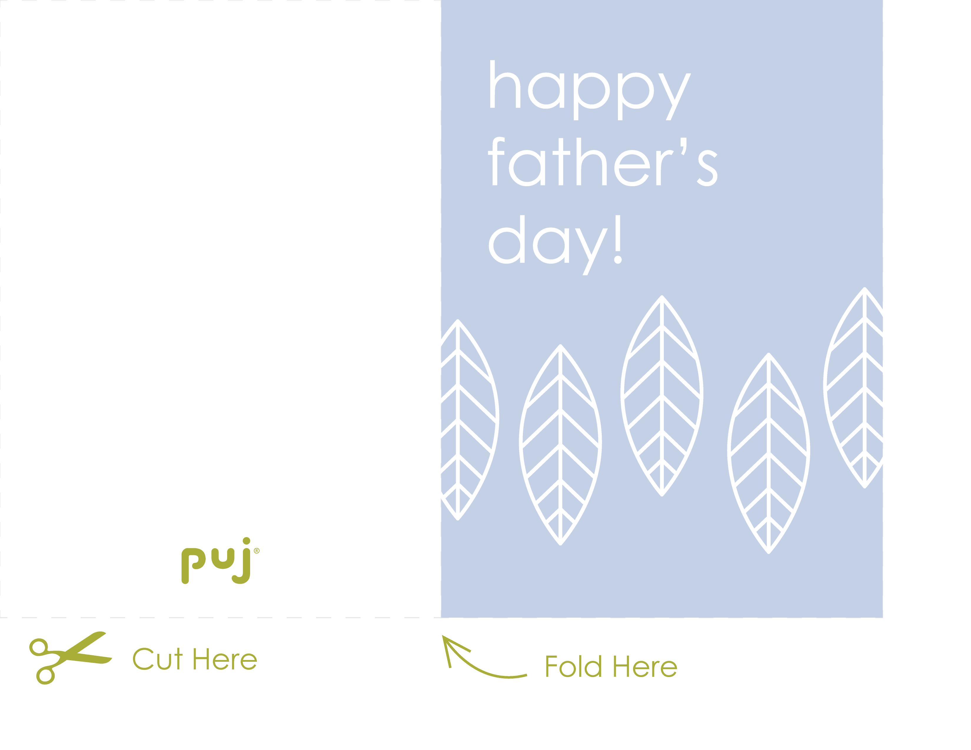 Free downloadable Father\'s Day card - Puj | Simplifying Parenthood