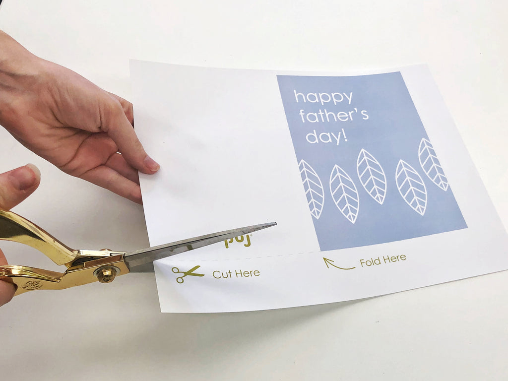 Free downloadable Father's Day card