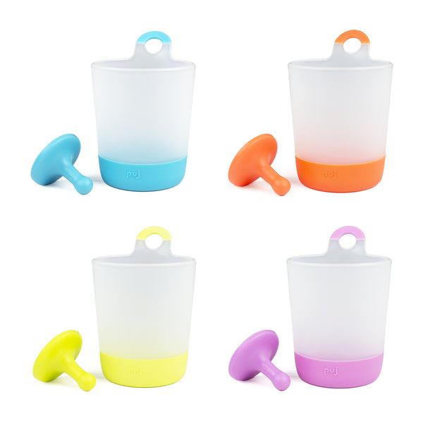 Puj Rinse and Play - Hangable Kids Cups (4-Pack) - Bath - Puj | Simplifying Parenthood