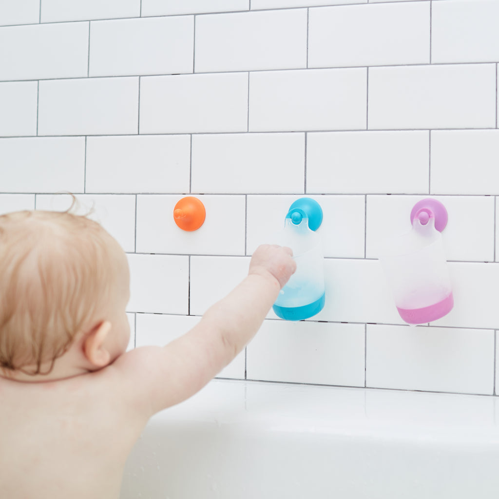 Puj Rinse and Play - Hangable Kids Cups (Original Colors) - Bath - Puj | Simplifying Parenthood