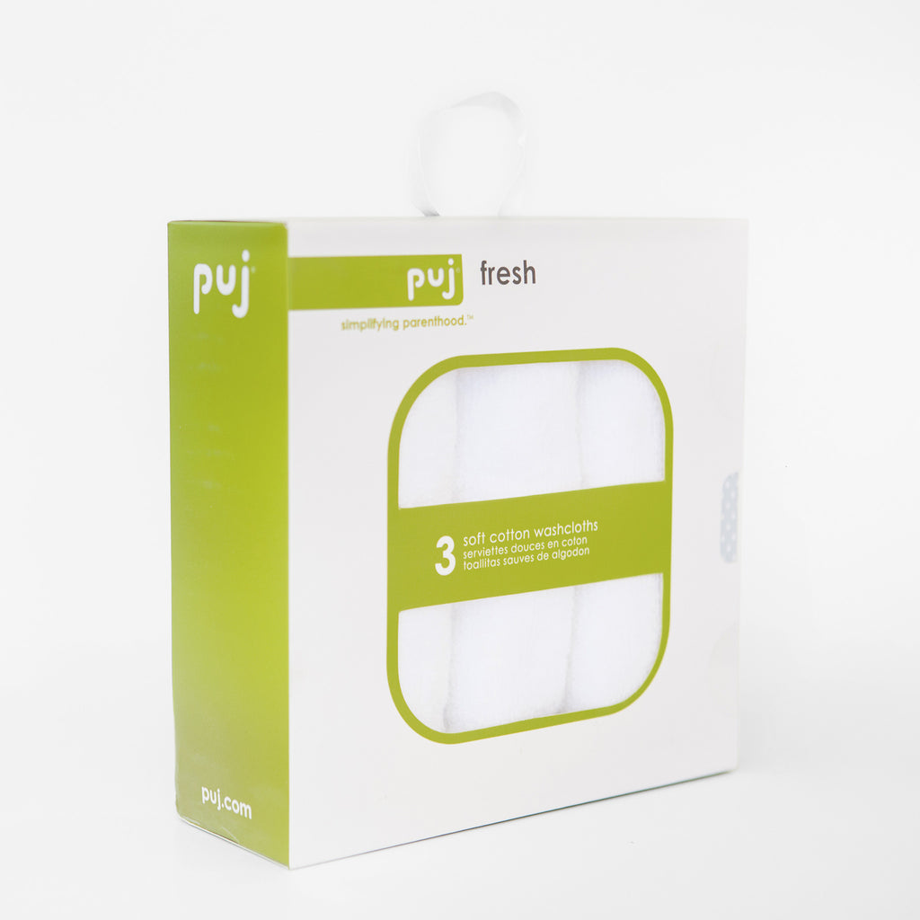Puj Fresh - Washcloths - Bath - Puj | Simplifying Parenthood