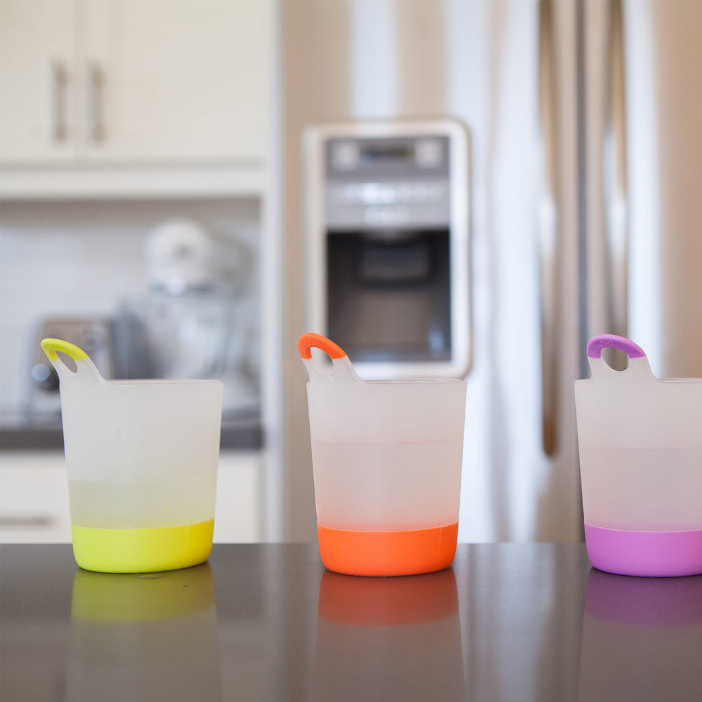 Puj PhillUp - Hangable Kids Cups (Original Colors 4-Pack) - Meal - Puj | Simplifying Parenthood