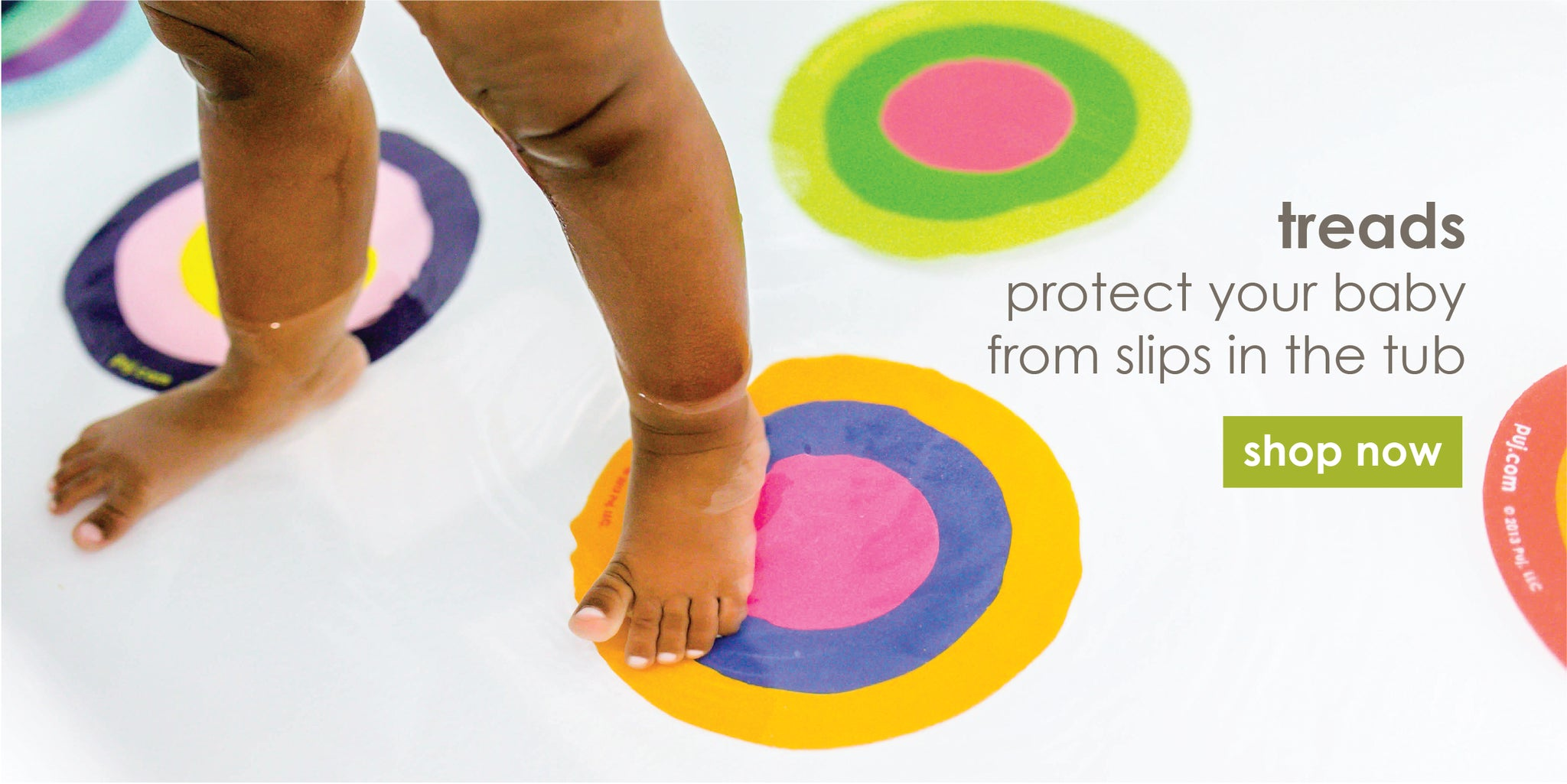 Protect your baby - no more slips and spills in the tub