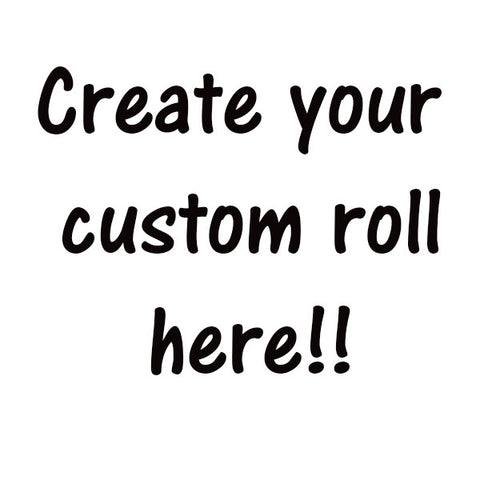 Your Custom Rolls of Toilet Paper!
