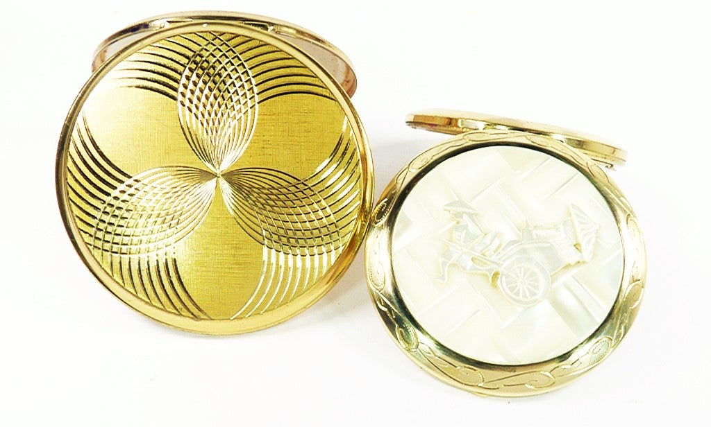 Giveaway Competition To Win Two Vintage Makeup Mirrors