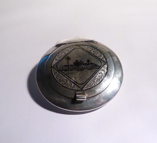 Win A Vintage Solid Silver Compact In Our Giveaway