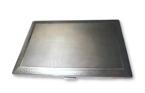 Large Sterling Silver Business Card Case Asprey Jewellers