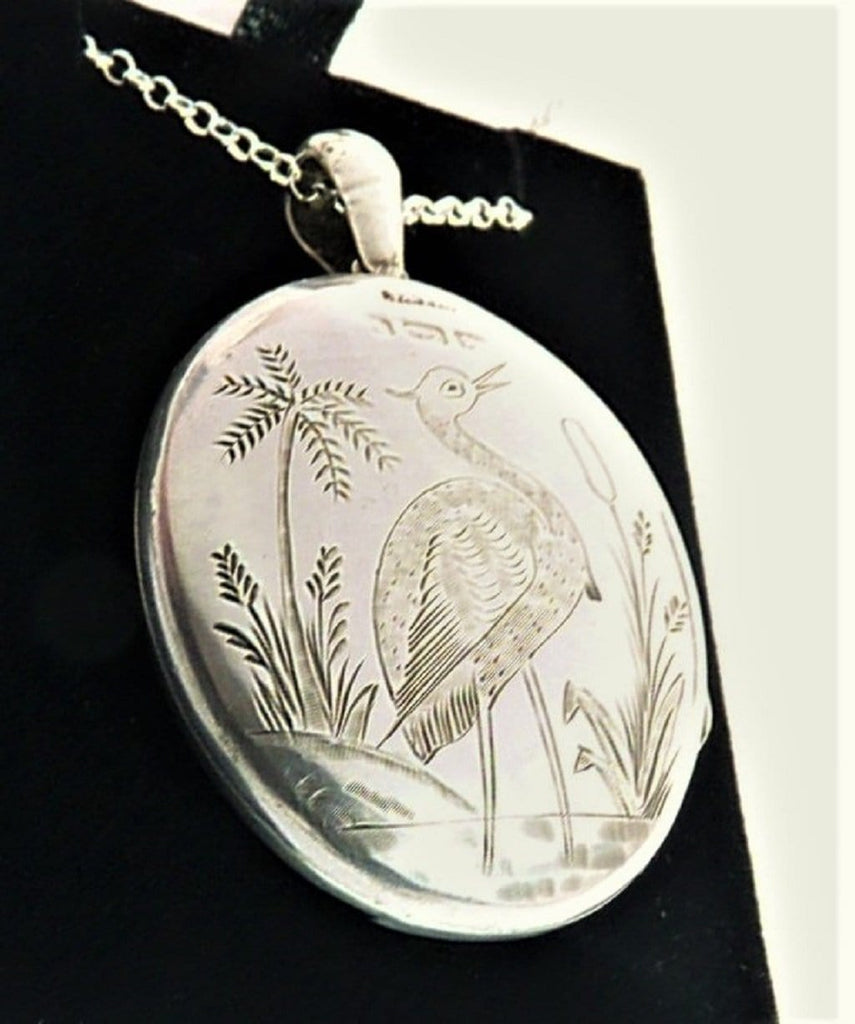 1893 Hallmarked Silver Locket