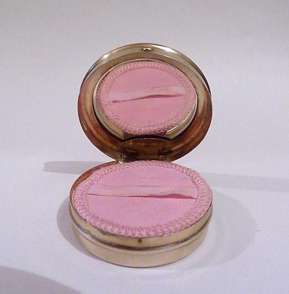 1920s flapper powder compacts