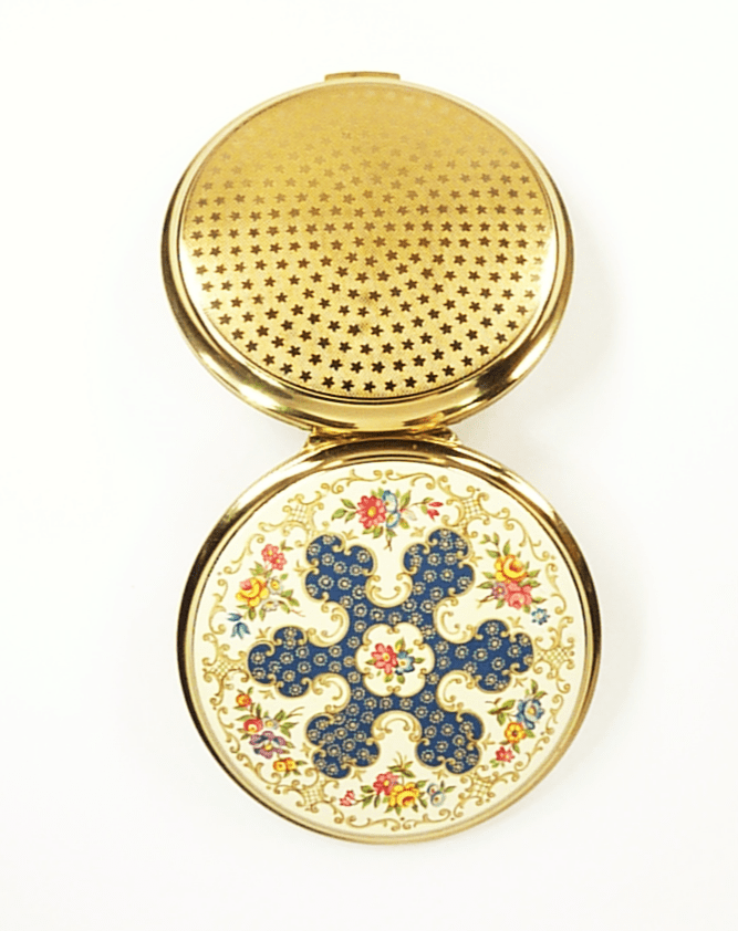 1950s Enamel Stratton Powder Compact