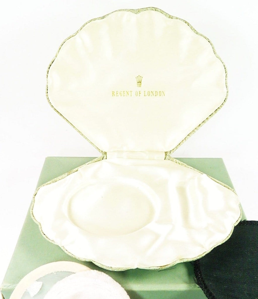 1950s Clam Shell Vanity Case