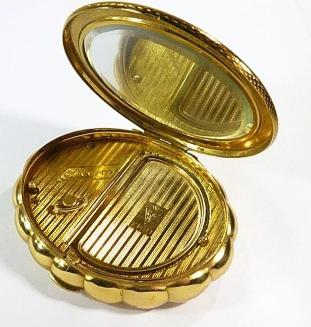 1950s Golden Music Box