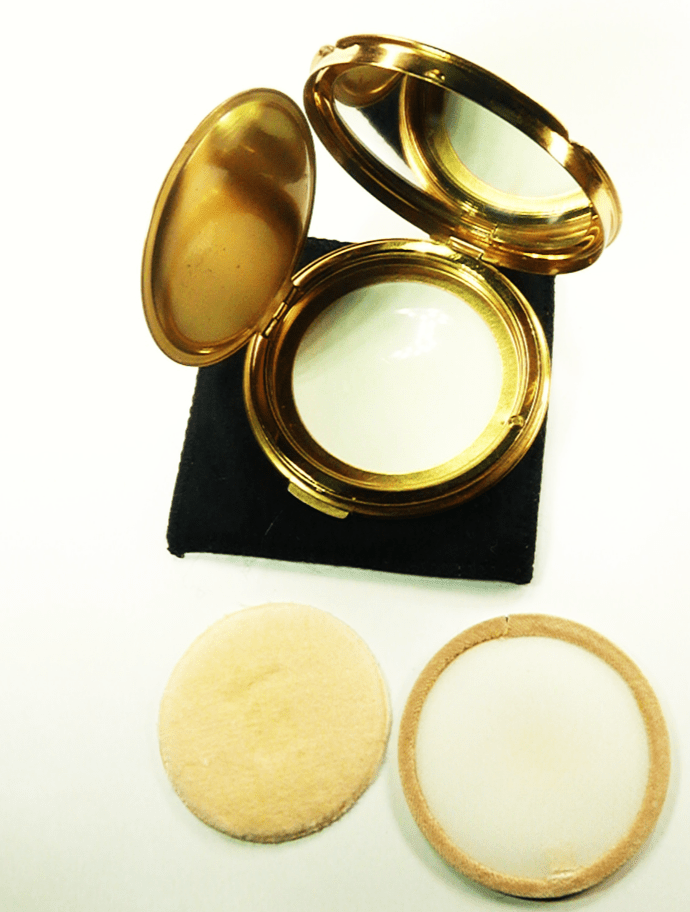 1950s Loose Powder Compact