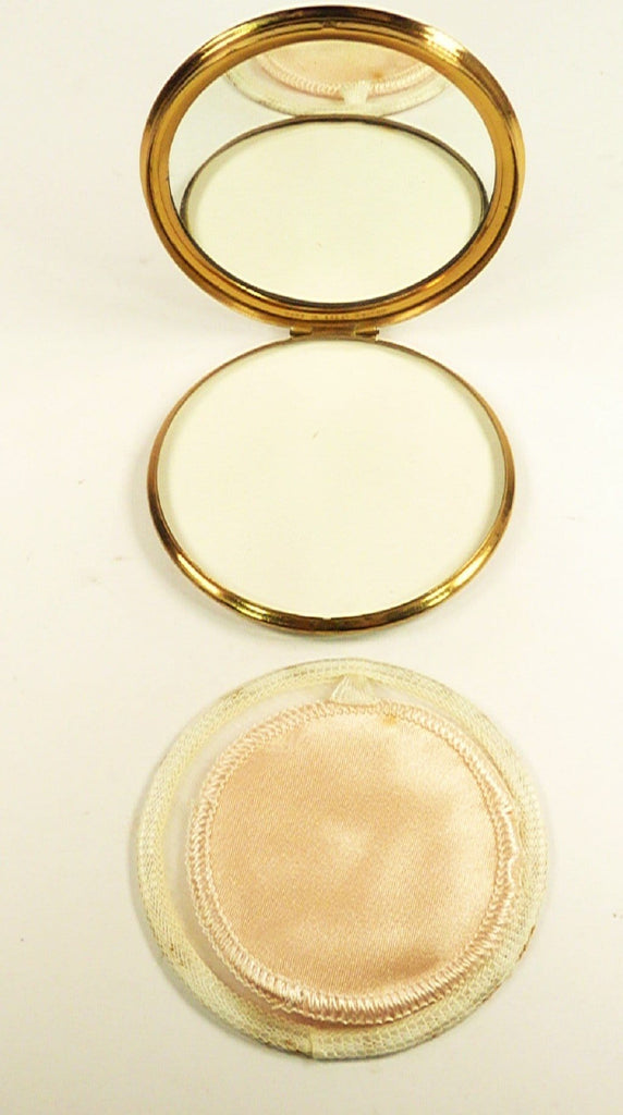 1950s Makeup Compact For Loose Face Powder