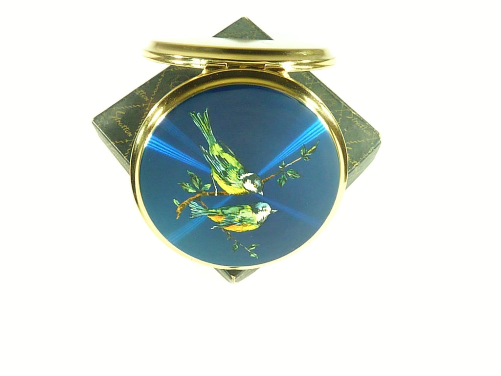 1950s Stratton Bird Series Powder Compact