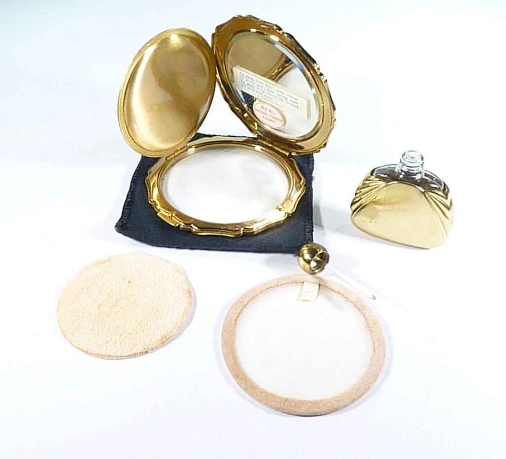 1950s Stratton Princess Loose Powder Compact