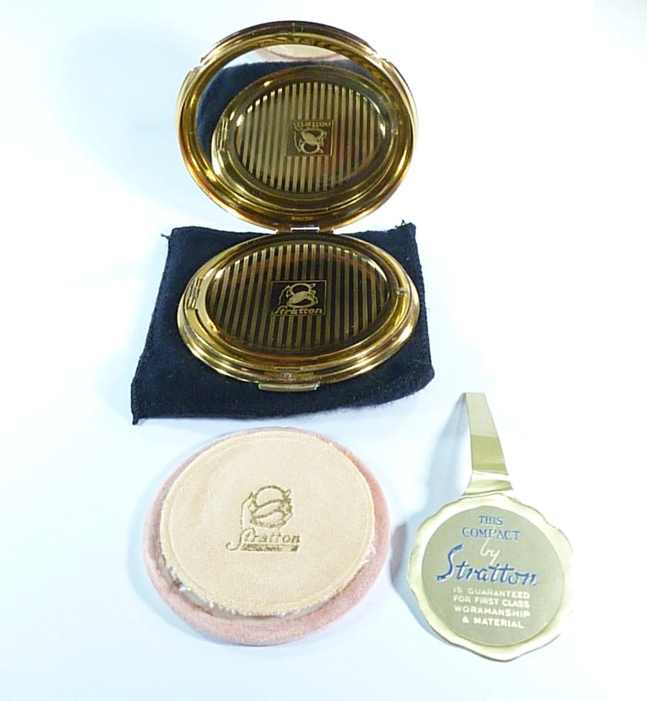 1950s loose powder compacts