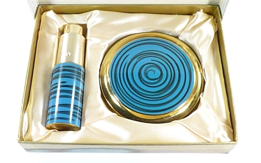 1960s Compact Mirror and perfume atomizer