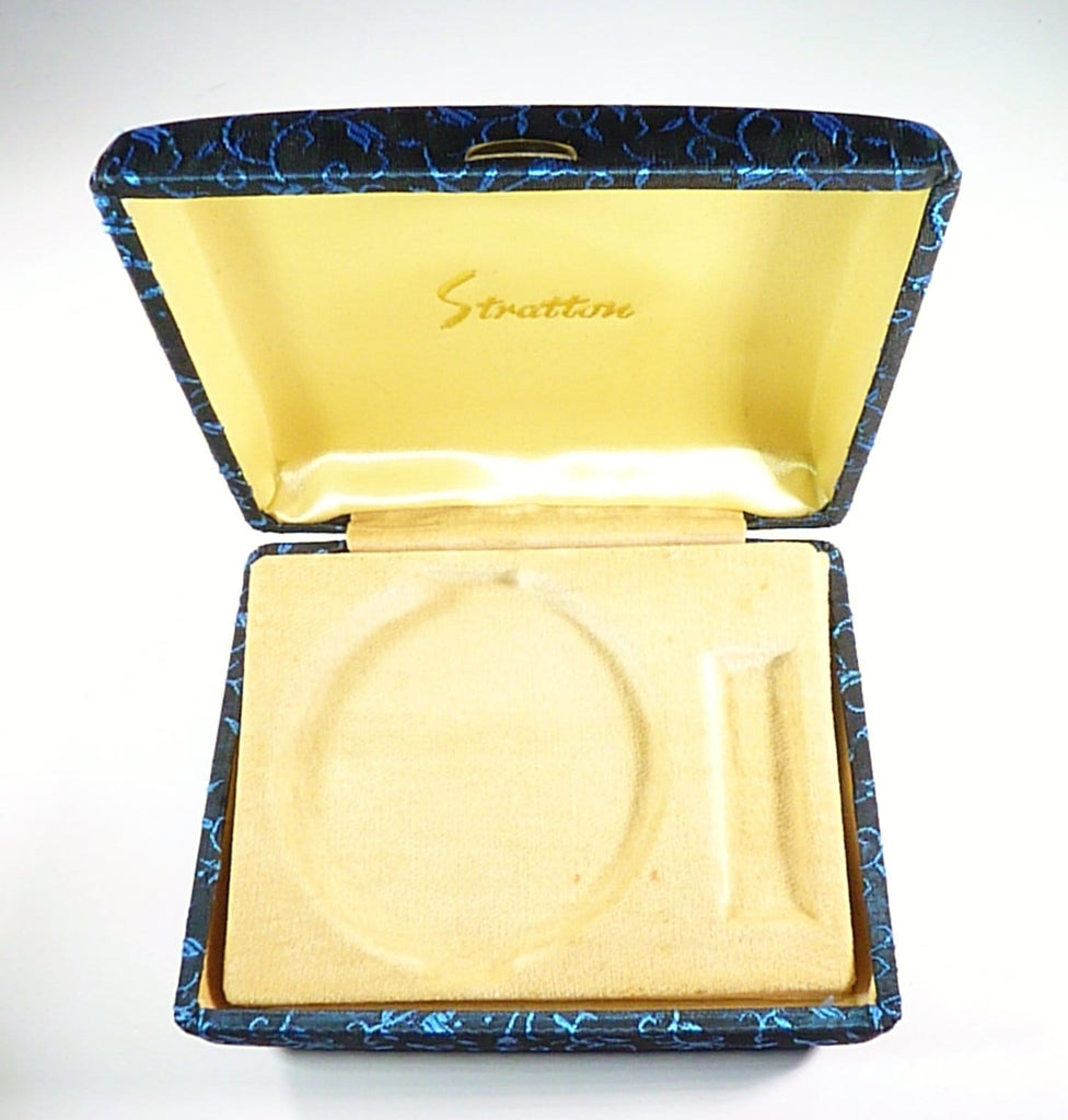 1960s Unused Stratton Compact And Lipstick Set