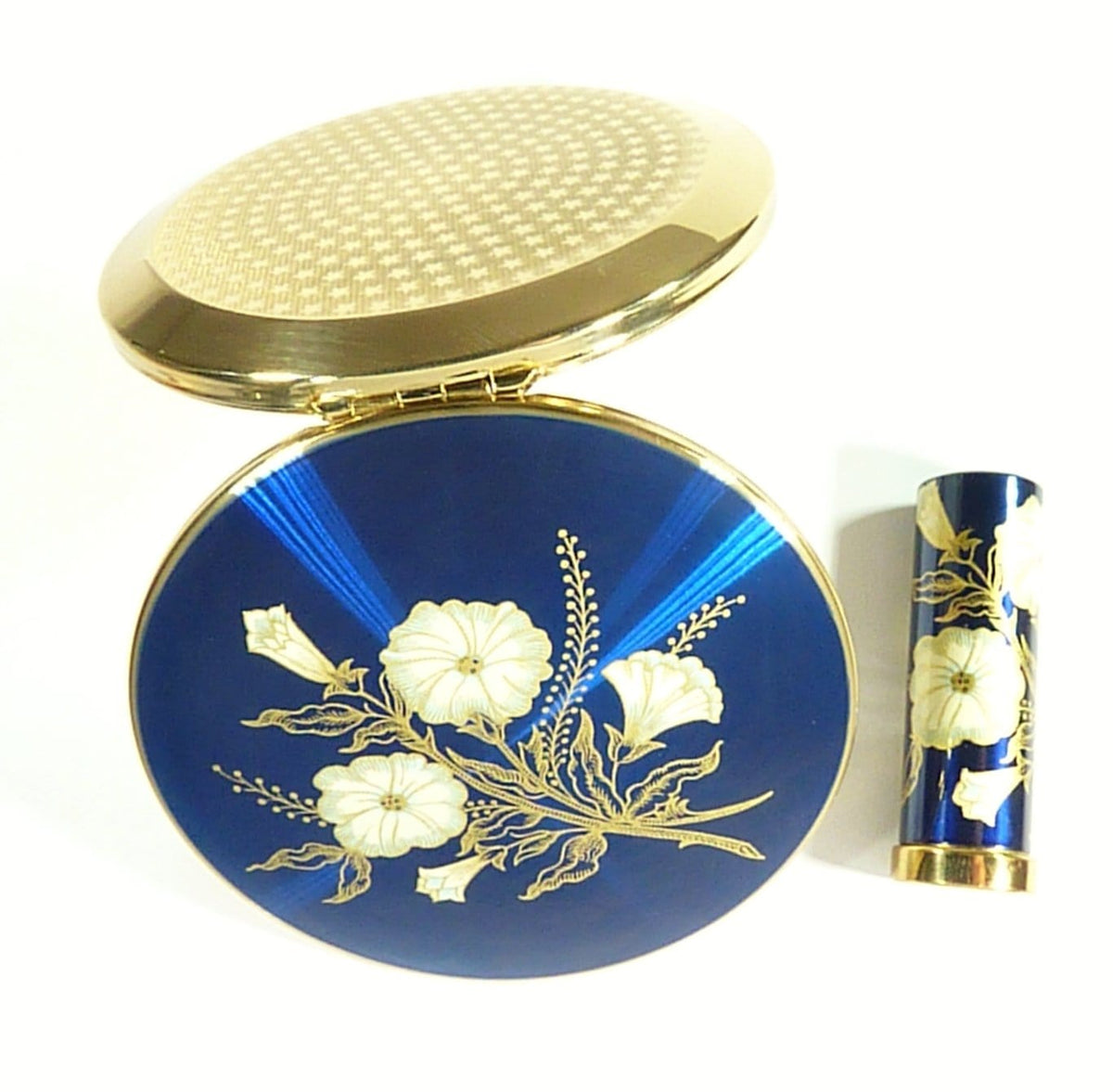1960s Unused Stratton Compact & Lipstick Case