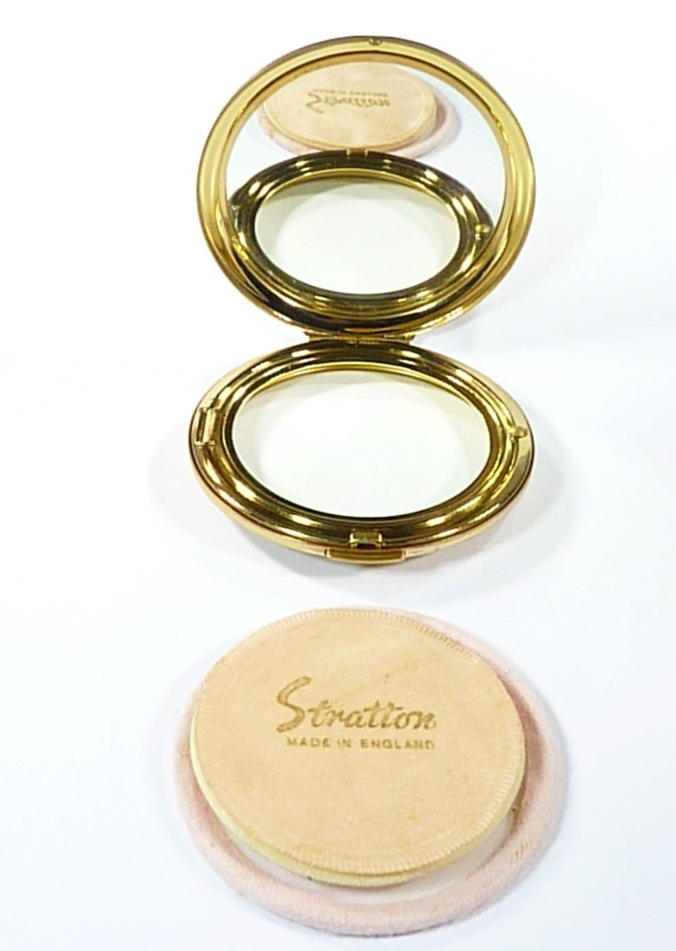 1970s Convertible Stratton Compact Mirror
